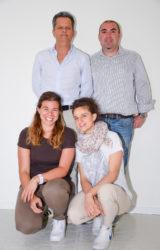 Team Cargo: Fabrizio, Simone, Linda, Arianna
