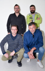 Team dogana Simone, Michele D. G. , Amedeo, Michele R.