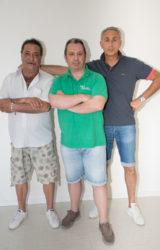 Team Fiori: Maurizio, Alberto, Antonio